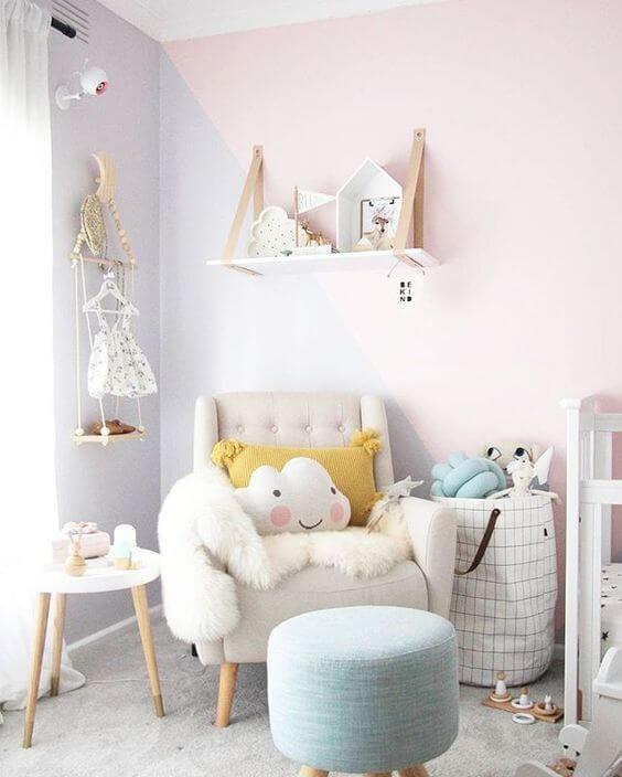 Kolor ścian do pokoju niemowlaka
